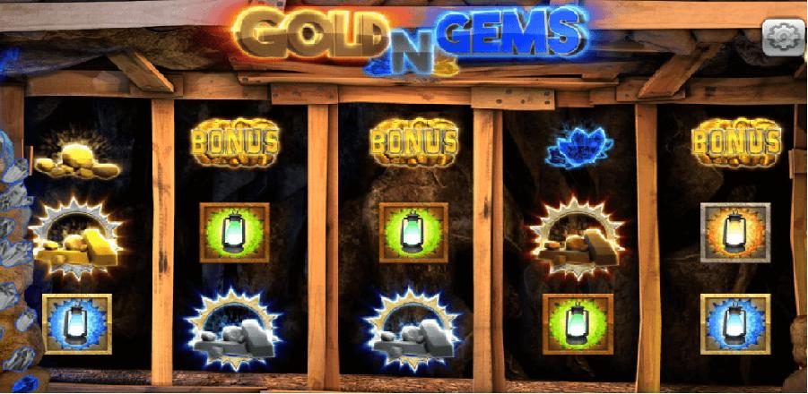 QT電子遊戲|QT老虎機-淘金QT黃金寶石-黃金寶石是一款以礦坑挖寶為主題的電子遊戲,是一種以3×5為主的遊戲介面,遊戲是利用畫面滾動達成連線來中獎,是屬於傳統型的老虎機。